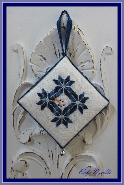 Eefs Needle: Snowman's Quaker Christmas