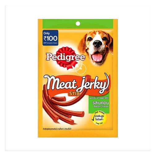 Buy Pedigree Treats Meat Jerky Stix 60 Gms Dog Food Online On