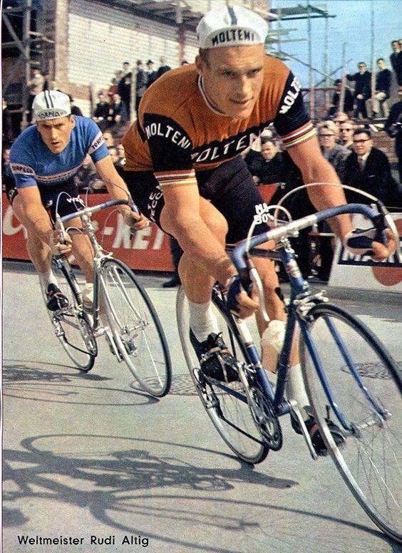 GIMONDI RARE RETRO CYCLING POSTER ANQUETIL MERCKX
