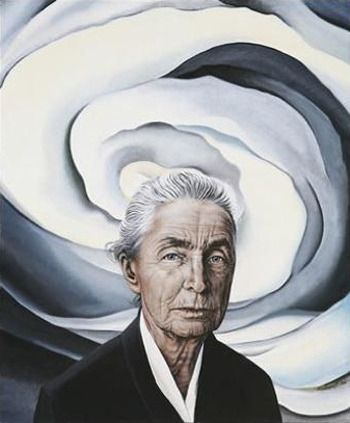 Inner Optics — Self-Portrait -Georgia O'Keeffe | Famous art, Georgia  okeefe, Female oil painters