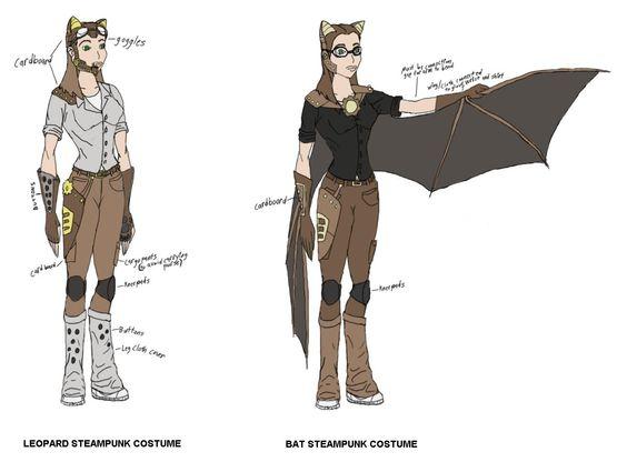 kotoran costume sketches