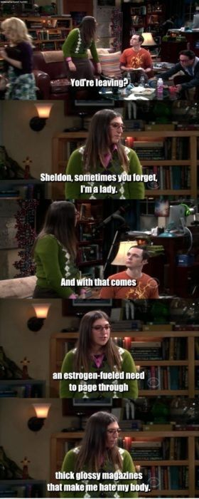 Hahaha Amy Farrah-Fowler is one of my all time favorite TV characters