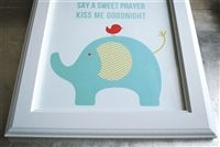 sweet prayer no. 3 | frameable wall art