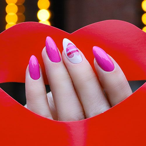 75 Best Valentine S Day Nail Designs You Will Love 2020 Update Nail Designs Valentines Nail Designs Hot Pink Pink Nail Designs
