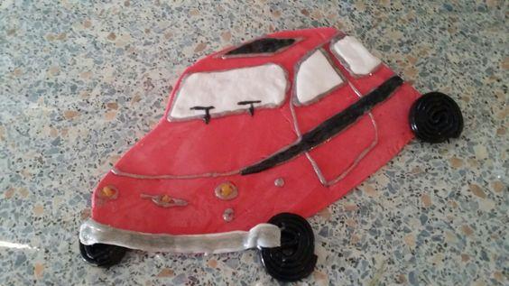 Fiat 500 geburtstagskuchen