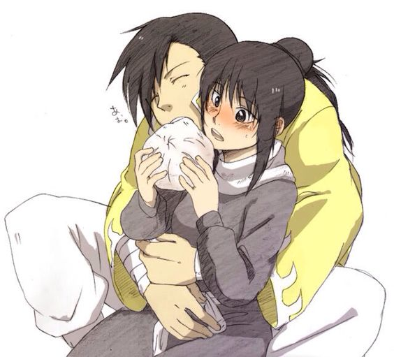 Ling And Lan Fan Kiss