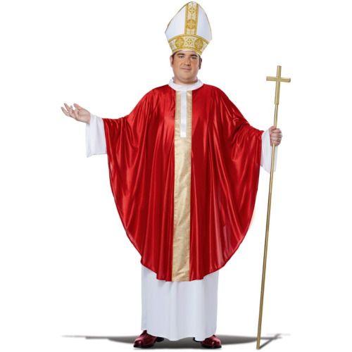 Plus Size Adult Pope Costume