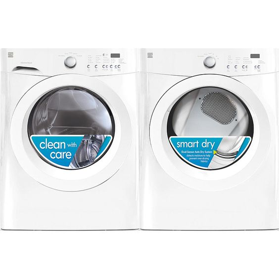 Kenmore 3.9 cu. ft. Front-Load Washer: Efficient Washing at Sears