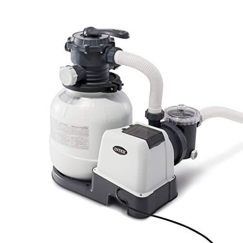 Intex Krystal Clear Sand Filter Pump For Above Ground Poo Https Www Amazon Com Dp B07f3rxvbc Ref Above Ground Pool Pumps In Ground Pools Above Ground Pool