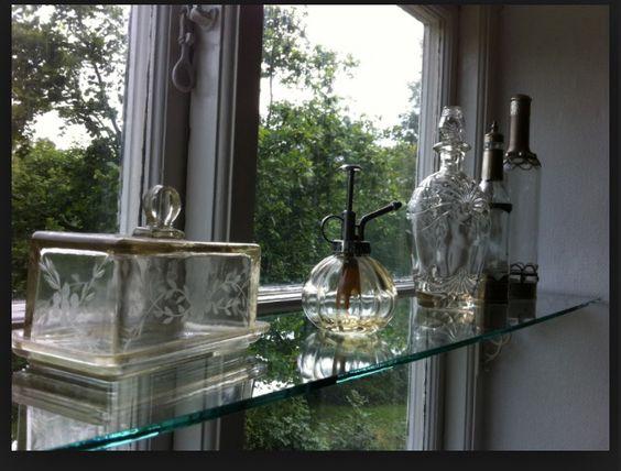 Fönsterhyllor i glas   Kök   Pinterest