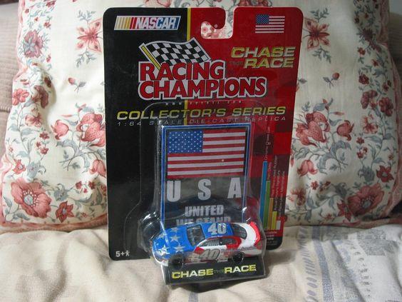 http://nascarniche.blogspot.com/  STERLING MARLIN 2001 Racing Champions 1 64 USA Nascar Diecast Car