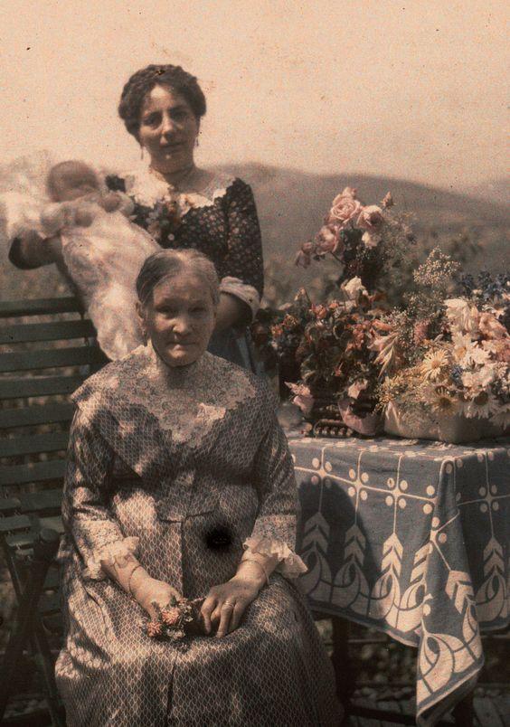 Three generations ca. 1910