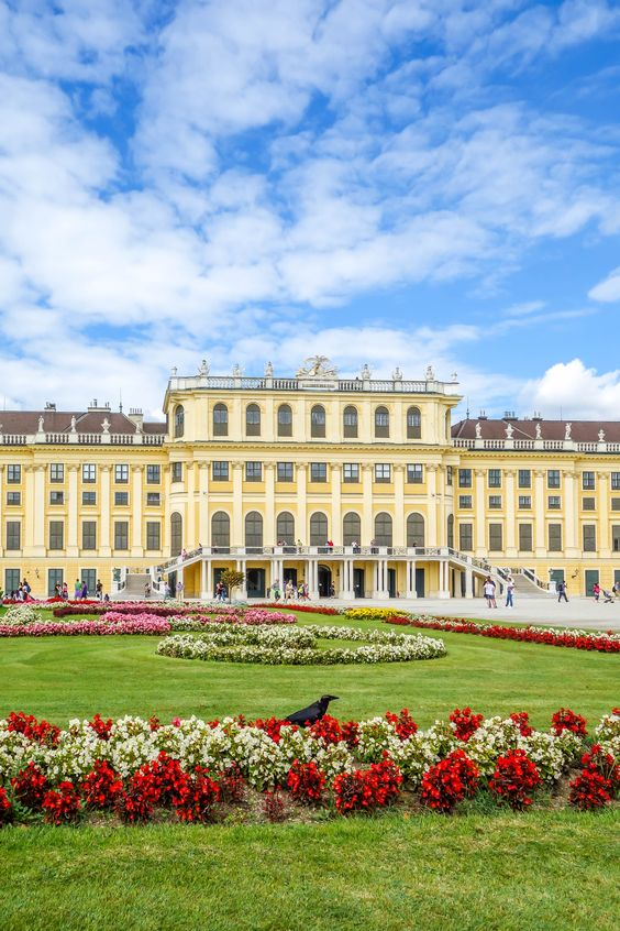 Schönnbrunn Palace in Vienna Austria is a must see for sure. For more top things to do check out our Backpacking Guide to Vienna.
