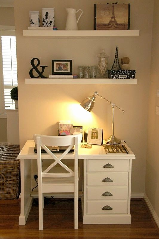 Image Result For Desk With Shelves Above Home Office
