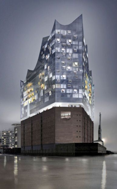 Modern Architecture News elbphilharmonie, herzog & de meuron, world architecture news