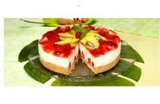 Cheesecake tropical
