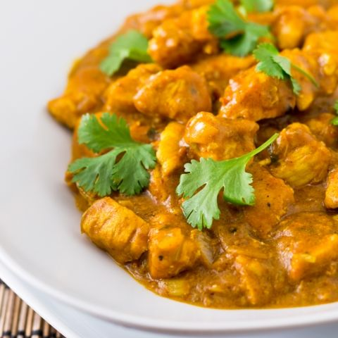 how to make quick chicken curry