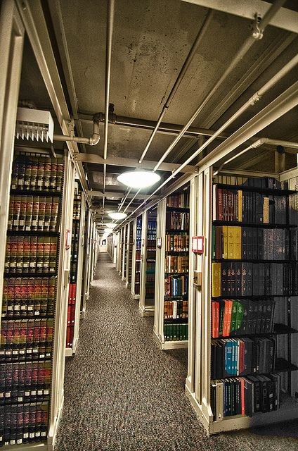 Library by JMStier, via Flickr