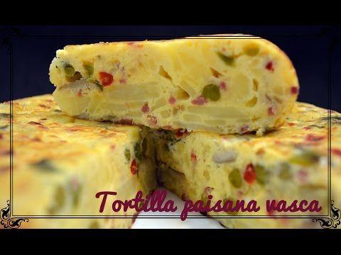 Tortilla paisana vasca | Javier Romero Cap. 12 Temporada 1 - YouTube