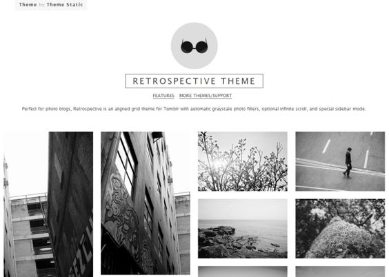 Retrospective Theme Tumblr Free Designer Anziehsachen