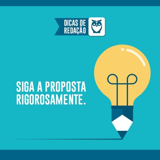 Fugir da proposta é buscar o zero. #dicas #redação #estudos #concursos #escreva