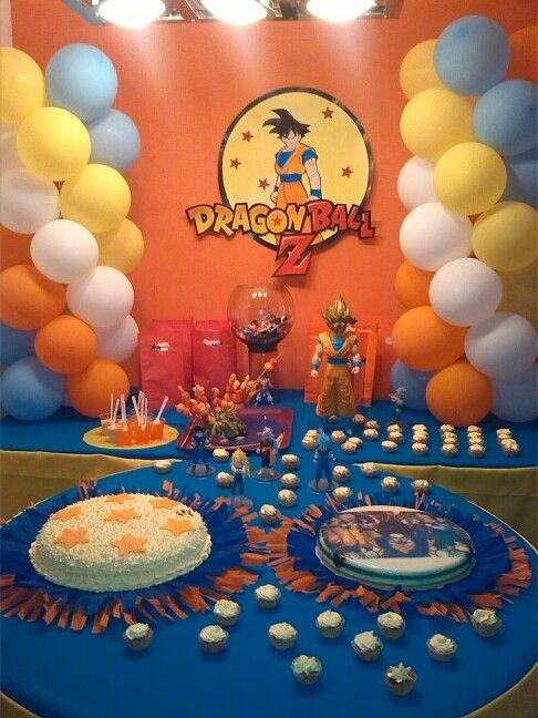 Decoracion sencilla dragonball z dbz pinterest - Decoracion party ...