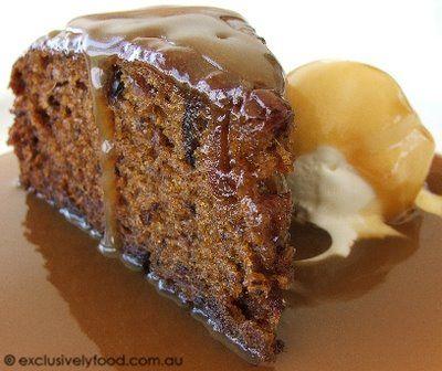 Sticky Date Pudding......yum!!!