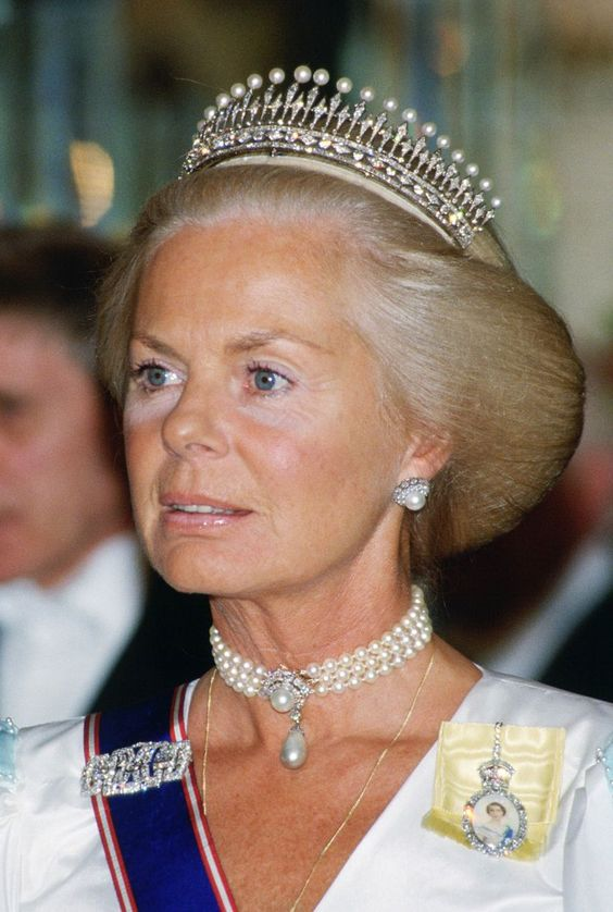 The Duchess of Kent attends a banquet held at Claridges Hotel