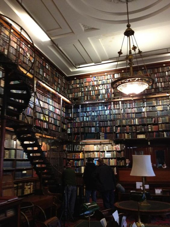 library at the Athenaeum Club in London, where G.K. Chesterton was a member.