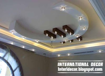 Italian Gypsum Board roof designs - Gypsum Board Roof Decorations | Lights  and ceilings | Pinterest | Roof design, Decoration and Board