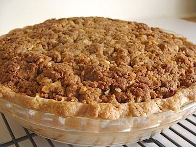 I made these after picking apples with my family last fall...they freeze well and are REALLY GOOD!  Crumb-Topped Apple Pie To Bake Now Or Freeze For Later