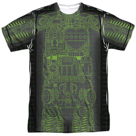 Astro Boy X Ray White Poly T-Shirt