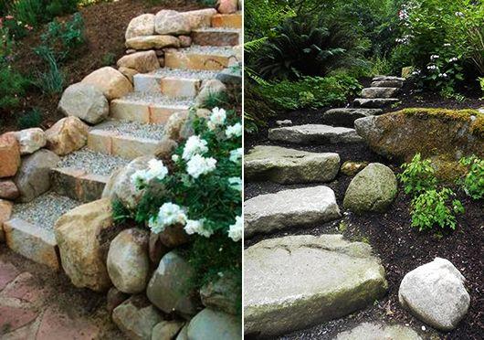 Heute werden wir 35 fantastischeInspirationen für eine DIY Gartentreppe zeigen. Die Treppe im Garte...