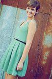 Alice In Wonderland Dress: Light Mint