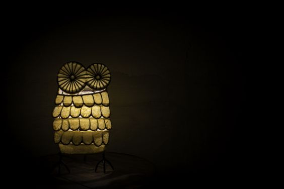 Owl Lamp...made by mishalampe