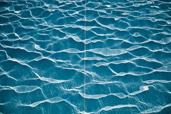 Sunlit water ripples, Abstract, New Zealand - stock photo, canvas, fine art print