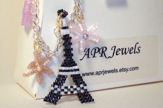 Eiffel Tower/Bag Charm/Purse Charm/Key Chain/Sell Phone Charm on Etsy, $8.00
