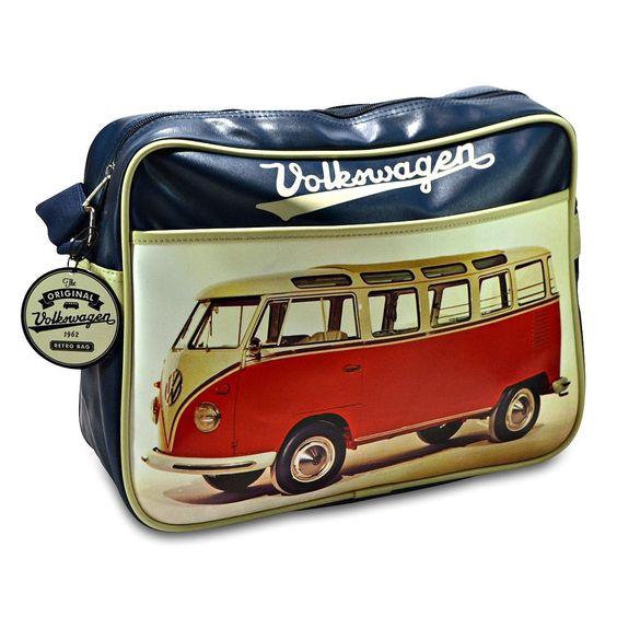 Die Volkswagen VW Bus rot Schultertasche - VW Bulli