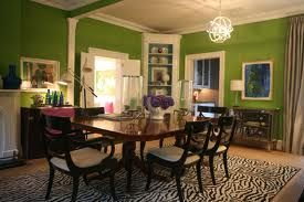 Love this dining room! Regency and apple green...perfect!