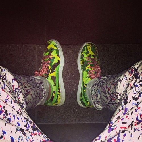 Fluo Camo ~ Photo by Tumblr