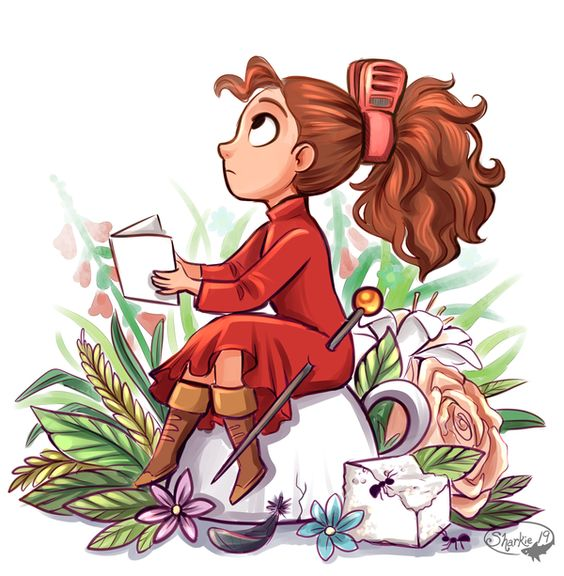 Arrietty by sharkie19.deviantart.com on @DeviantArt:
