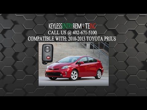 How To Change The Battery In A 2011 2015 Toyota Prius Key Fob