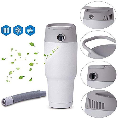 Gobeauty Electric Mini Portable Air Cooler Heater 2 In 1 Personal