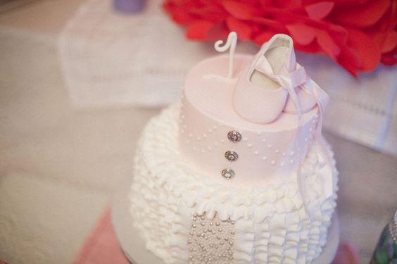Sara's Birthday Party- Beautiful Ballerina cake Photo By Amanda Lenhardt Photography