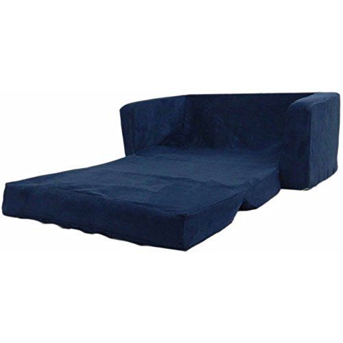Flip Open Foam Sofa For Kids Room Recliner Sectional Sofa Sleeper