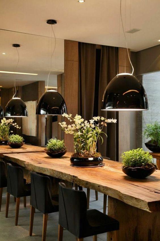 chaises contemporaines salle manger en bois massif