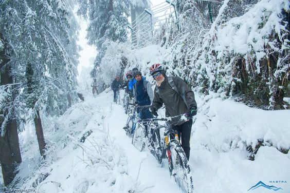 Ice Cycling  #mtb #cycling #enduro #offroad #bike #biking #cross #crosscountry #biking