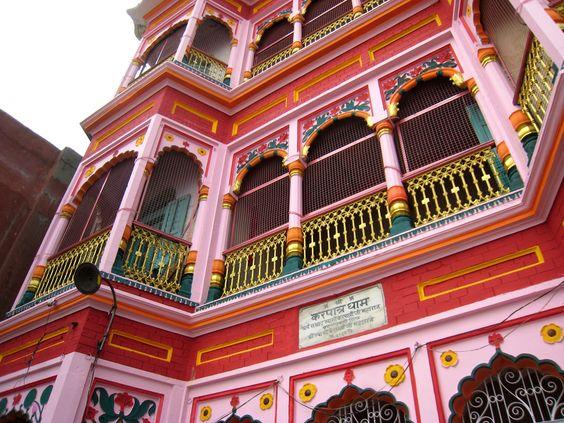 Casa en Benarés, India