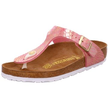 Birkenstock Sandale in Animal Optik