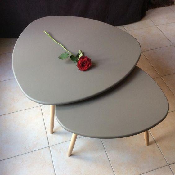 DIY - table basse tripode gigogne                              …